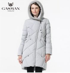 1115bf2ce64 Size Plus Coats Parkas Women Hooded Jackets Down Bio Winter Thick Fashion  Brand Collection
