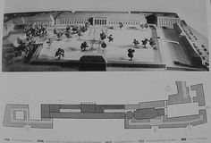 Albert Speer Blueprints | ... Reich Chancellery--one of Speer's buildings that was actually built
