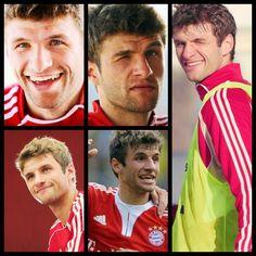 Thomas Muller! Adorable and hot. ;)