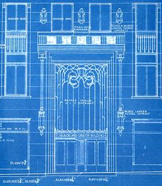 Eiffel tower architectural blueprints art 8 x 10 by scarletblvd blueprint of the carbide and carbon building entrance malvernweather Image collections