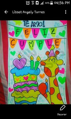 Amor, Frases, History Projects, Banners, Decorations, Girlfriends, Presents