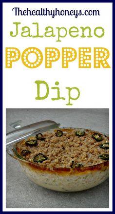 Jalapeno Popper Dip - The Healthy Honeys