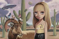 Desert Hare  by Ana Bagayan