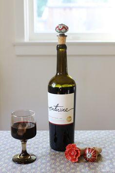 DIY Fancy Knob Wine Corks   Earl Grey Creative