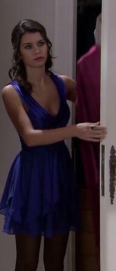 aşk ı memnu bihter ziyagil blue dress