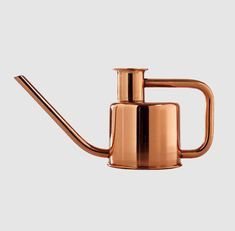 Paul Loebach's copper-plated x3 Watering Can—produced by Kontextür