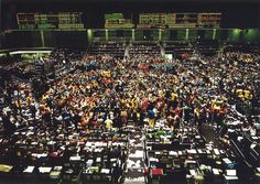 """""""Chicago, Board of Trade"""" by Andreas Gursky, from """"Art Data"""""""