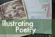Reading & Writing Readiness Activity for Kids {Illustrating Poetry}