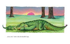 Bilderesultat for sovende krokodille