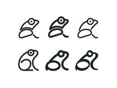 Case study: Ribbet. Designing logo — Medium