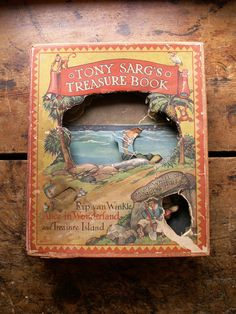 Vintage Children's Book Tony Sarg's Treasure Book by CopperAndTin