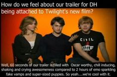 Even though I like twilight, I love this. :) And Harry Potter will ALWAYS be my number one :)