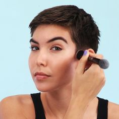 Watch the video for a step-by-step guide to contouring—our quick application hack has removed all the guesswork from the makeup craze. | Health.com