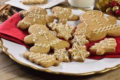 Galletas fáciles en forma de muñeco de jengibre para regalar en Navidad