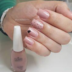 New nails art facile chic ideas Trendy Nail Art, New Nail Art, Stylish Nails, Chic Nails, Pink Nails, My Nails, American Nails, Disney Nails, Dream Nails