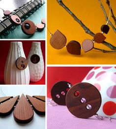 Shop of the Day: If you've been following along this week, you may have noticed that I have really been feelin' the jewelry category lately. And today's shop of the day is a jewelry store named 3 Dots. I was so impressed with themodern design and love the unusual use of wood in creating simplistic …