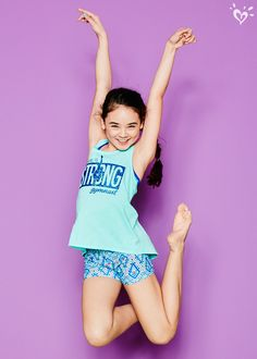 You'll flip for our performance-ready tanks and made-to-match shorts!