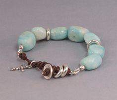 The Winter Marble Bracelet Ideas by susan bernstein on Etsy