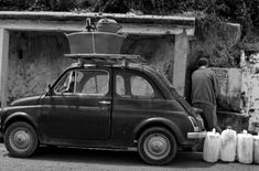 Calabritudine - Gallery - Giuseppe Torcasio - www. Fiat 500c, Fiat Abarth, Calabria Italy, Vintage Italy, Cute Cars, Car In The World, Historical Pictures, Great Pictures, Reggio