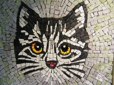 mosaic picture, made with pieces of marble and Venetian enamel, handmade. mounted on a cassina wood, handmade.