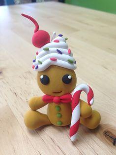 JumpingClay Ginger Cupcake