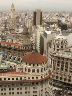 Domes in Buenos Aires- Argentina Latin America, South America, Central America, Argentine Buenos Aires, Beautiful World, Beautiful Places, Art Nouveau Arquitectura, South Of The Border, Argentina Travel