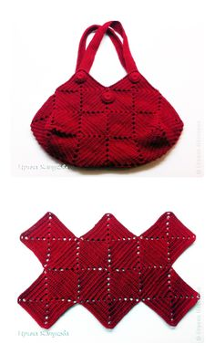 Crochet squares bag - chart &aideas crochet basket square ganchillo for Cheap Bags. The location where building and construction meets style, beaded crochet is the act of using beads to decorate crocheted products. Crochet is derived froCroch Crochet Shell Stitch, Crochet Handbags, Crochet Purses, Knit Or Crochet, Crochet Granny, Crochet Crafts, Crochet Baby, Crochet Projects, Bobble Stitch