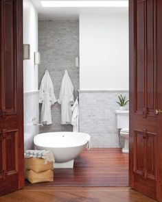 """See the """"Modern Master Bathroom"""" in our  gallery"""