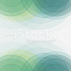 Growth Semi Circle Background Square royalty-free stock vector art