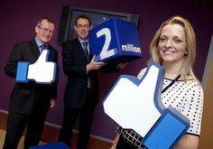 Tourism Ireland reaches 2 million Facebook fans | Destination marketing | Scoop.it