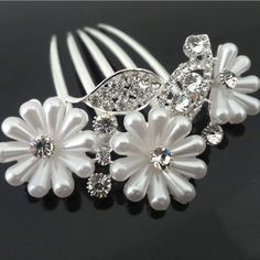 Find More Hair Jewelry Information about 6pcs/lot Free Shipping Woman Crystal Pearl Flower Hair Comb. Fashion Hair Jewelry. elegant wedding bridal hair Pins New Style,High Quality jewelry findings pins,China jewelry phone Suppliers, Cheap pin american from Hair's Art Online Wholesale Store on Aliexpress.com