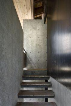 Staircase At TheTye River Cabin ByOlson Kundig Architects