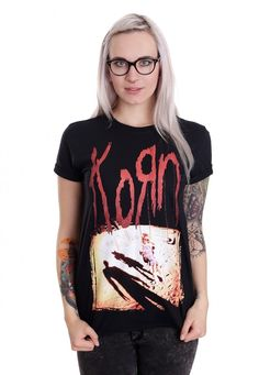 Order Korn - Korn - T-Shirt by Korn for $27.99 (17/10/2016) at the Impericon Australia  online store for an affordable price.