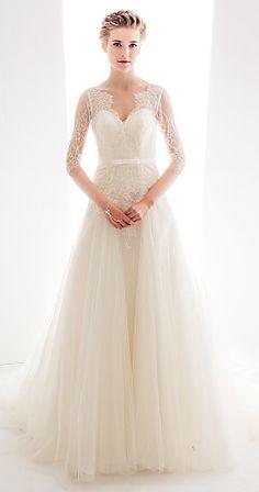 lace tulle gown #slub #wesele #sklepslubny