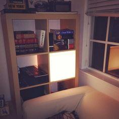 IKEA-HACK: Caja de Luz para la estantería Expedit