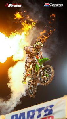 Of The Day Ryan Villopoto final Supercross winRyan Villopoto final Supercross win Cool Dirt Bikes, Dirt Bike Gear, Dirt Bike Racing, Mx Racing, Ktm Dirt Bikes, Dirt Biking, Motocross Outfits, Enduro Motocross, Dirt Bike Clothing