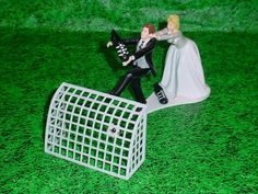 Soccer Football Sports Fan Humorous Referee Fun Wedding Cake Topper Fun Wedding Cake Toppers, Wedding Cakes, Perfect Wedding, Dream Wedding, Wedding Things, Football Wedding, Referee, Bride Groom, Humor