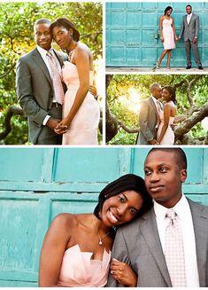 Engagement Photos: Ashaki and Embry's Laid-Back Outdoor Engagement Photo SessionTheKnot.com -