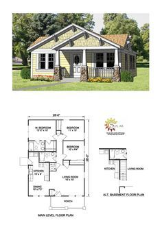 Bungalow Floor Plans Craftsman house plans Craftsman and House