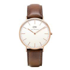 Daniel Wellington watches are a sleek, beautiful timepiece.