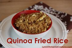 Quinoa Fried Rice- gluten free