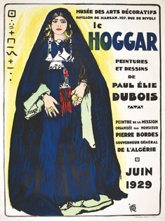 Le Hoggar Musée des Arts Décoratifs Pavillon de Marsan Juin