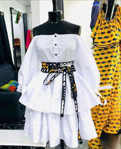 African Dresses For Kids, African Wear Dresses, Latest African Fashion Dresses, African Attire, African Print Pants, African Print Fashion, Chic Outfits, Fashion Outfits, Traditional Fashion