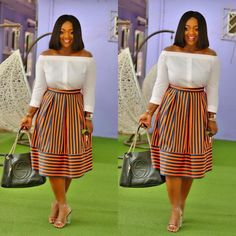 This is what happens when your stylist is also a celeb. Afua Rida did a great job here, and it's Ghana's favourite actress Jackie Appiah looking all splend African Print Dresses, African Print Fashion, Africa Fashion, African Fashion Dresses, African Dress, African Attire, African Wear, African Women, Xhosa Attire