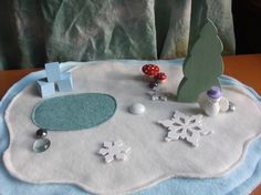 winter playscape
