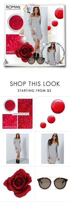 """""""ROMWE CONTEST"""" by antonia88 ❤ liked on Polyvore featuring Topshop, STELLA McCARTNEY and Benefit"""