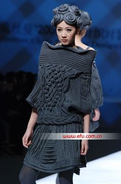 ? China Fashion Week 2012 | Knit | Knitwear | runway | catwalk | high fashion | tricot