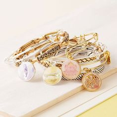 The Founder of Alex & Ani Is One of America's Richest Self-Made Women Alex And Ani Jewelry, Alex And Ani Bracelets, Bangles, Beaded Bracelets, Stackable Bracelets, Necklaces, Apricot Lane Boutique, Fashion And Beauty Tips, Cute Jewelry