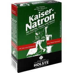KAISER NATRON Beutel Pulver:   Packungsinhalt: 250 g Pulver PZN: 01420649 Hersteller: Arnold Holste Wwe. GmbH & Co. KG Preis: 1,20 EUR…