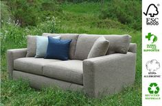 Source for affordable eco-friendly and people friendly sofas. Lots of styles including modern and traditional. 20% sale.